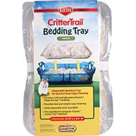 Super Pet- Crittertrail - Kaytee Crittertrail Bedding Tray - 3Pack / 14.75 x 9.5 Inch