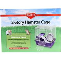 Super Pet - 2 Story Hamster Cage - Purple - 14.5 x 10 x 14.5 Inch
