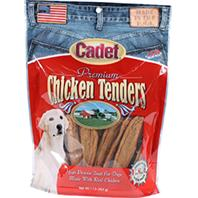 IMS Trading Corp - Cadet Premium Chicken Tenders Dog Treats - 1 Lb