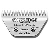 Andis - Showedge General Blade - 3.5X2.5X.5 INCH