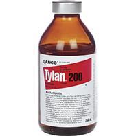 Durvet - Elanco Tylan 200 Injection For Cattle And Swine - 250 Milliliter