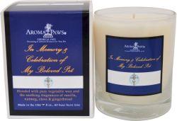 Aroma Paws - Sayings Candles - Cross/ Royal Blue - 8 oz