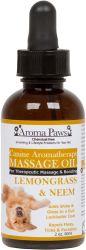 Aroma Paws - Massage Oil - Lemongrass & Neem - 2 oz