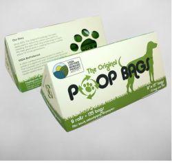 Original Poop Bags - PoopBags USDA Certified Biobased 9 Roll Pack - 9 x 13 Inch