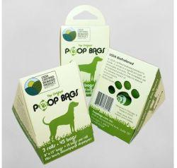 Original Poop Bags - PoopBags USDA Certified Biobased 3 Roll Pack - 9 x 13 Inch