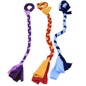 Tether Tug Replacement Toy - Fleece