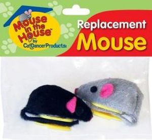 Cat Dancer - Replacement Mouse - Package of 2