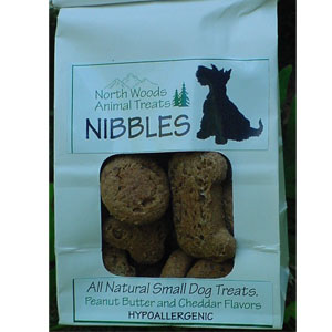North Woods Animal Treats - Nibbles - 3 oz 12 Bags