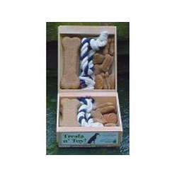 North Woods Animal Treats - Treats n Toy - TUG - 16 Gift Crates