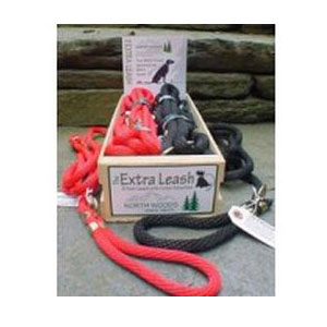 North Woods Animal Treats - The Extra Leash Display Crate - 10 Leashes