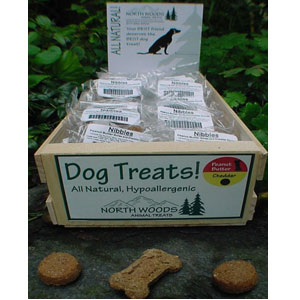 North Woods Animal Treats - Nibbles Display Crate