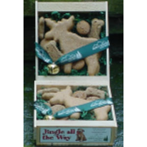 North Woods Animal Treats - Jingle all the Way - 16 Gift Crates
