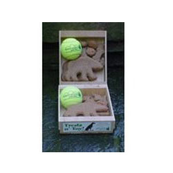 North Woods Animal Treats - Treats n Toy - BALL - 16 Gift Crates