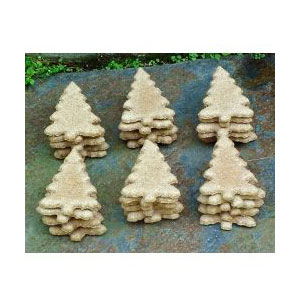 North Woods Animal Treats - Pepermint Pine Display Crate Refill - 36 Cookies