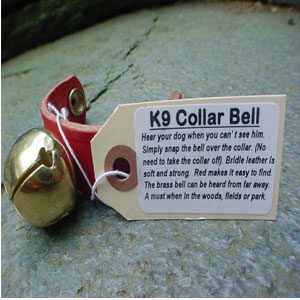 North Woods Animal Treats - K9 Collar Bell Display Crate Refill - 15 Bells