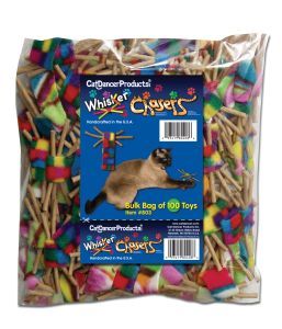 Cat Dancer - Whisker Chasers Bulk - Package of 100