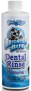 Pet Kiss - Dental Rinse Plus Whitening - 8 oz