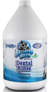 Pet Kiss - Dental Rinse Plus Whitening - Gallon