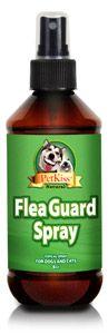 Pet Kiss - Flea Guard Spray - 8 oz