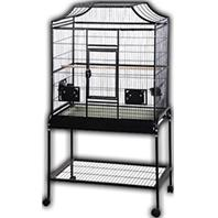 A&E Cage Company - Elegant Style Flight Cage With Stand - Black - 32 X 21 X 61 Inch