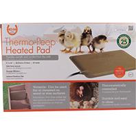 K&H Pet Products - Thermo-Peep Heated Pad - Beige - 9X12Inch/25 Watts