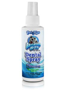 Pet Kiss - Dental Spray Plus Whitening - 4 oz