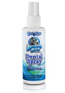 Pet Kiss - Dental Spray Plus Whitening - 4 oz