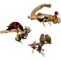 A&E Cage Company - Java Wood Branch Bird Toy - Assorted - Medium