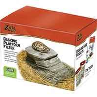 Zilla - Basking Platform With Filter - Large 40 Gallon