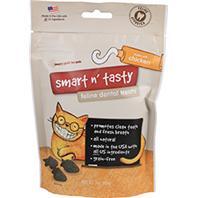Emerald Pet Products - Smart N Tasty Feline Dental Grain Free Treats - Chicken - 3 oz