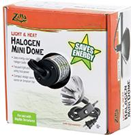 Zilla - Halogen Mini Dome Fixture Heat And Light