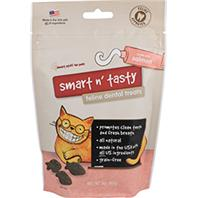 Emerald Pet Products - Smart N Tasty Feline Dental Grain Free Treats - Salmon - 3 oz