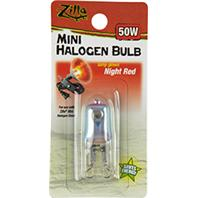 Zilla - Mini Halogen Bulb - Night Red - 50 Watt