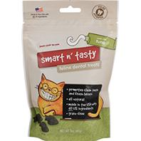 Emerald Pet Products - Smart N Tasty Feline Dental Grain Free Treats - Tuna - 3 oz