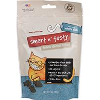 Emerald Pet Products - Smart N Tasty Feline Dental Grain Free Treats - Whitefish - 3 oz