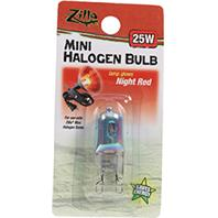 Zilla - Mini Halogen Bulb - Night Red - 25 Watt