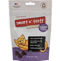 Emerald Pet Products - Smart N Tasty Feline Treats Hairball Formula - Chicken - 2.5 oz