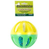 Ware Mfg - Farmers Market Peck N Play Ball - Green/Yellow
