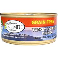 Triumph Pet - Grain Free Turkey & Giblets Can Cat Food - 5.5 oz