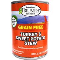 Triumph Pet - Grain Free Turkey & Sweet Pot Can Dog Food - 13.2 oz