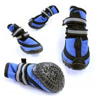 Ethical Fashion-Seasonal - Performance Dog Boot - Blue - Medium