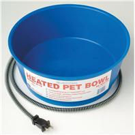 Farm Innovators - Heated Round Pet Bowl - Blue - 60 Watt