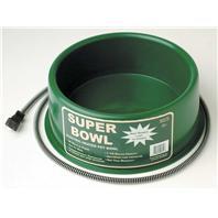 Farm Innovators - Heated Round Pet Bowl - Green - 60 Watt
