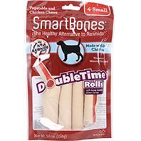 Petmatrix - Smartbones Doubletime Rolls - Chicken/Veg - Small/4 Pack