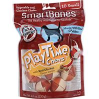 Petmatrix - Smartbones Playtime Chews With Real Chicken Treats - Chicken - Small/10 Pack