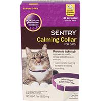 Sergeants Pet Specialty - Sentry Calming Collar For Cats - Lav/Chamomile - 3 Pack/15 Inch