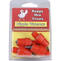 Durvet - Nipple Waterers - Red - 4 Pack