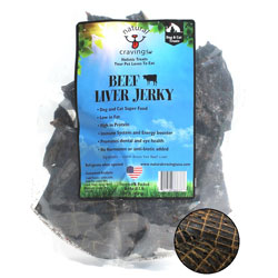 Natural Cravings - USA Beef Liver Jerky - 8 oz