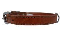Angel Pet Supplies - Dallas Elite Collar - Brown - 16 X 3/4 Inch