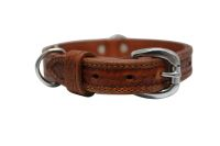 Angel Pet Supplies - Santa Fe Elite Collar - Brown - 16 X 3/4 Inch